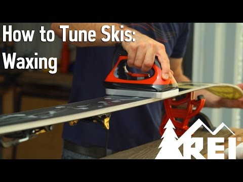 How to Wax Your Skis - Everything You Need to Know || REI
