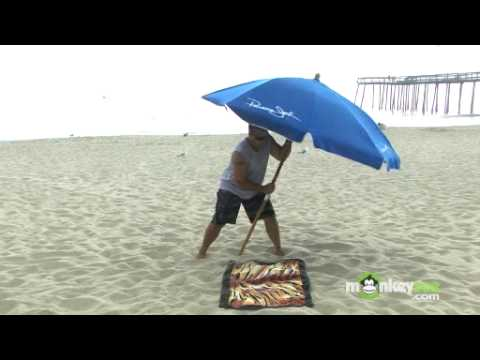 Beach Safety - How to Properly Install a Beach Umbrella