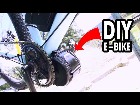 eBike Conversion Kit - How to Install (easy)
