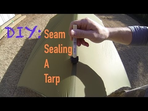 DIY Gear Tips: Seam Sealing A Tarp