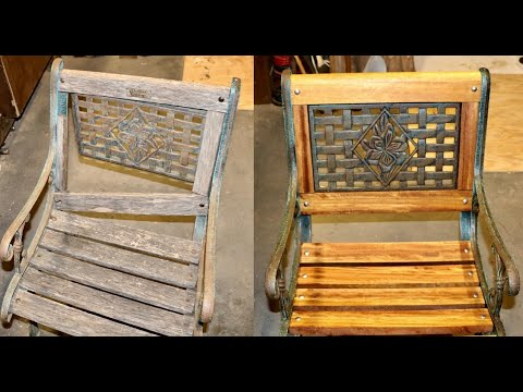 How To Repair and Restore Garden Furniture