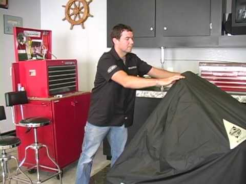 Dowco Guardian Motorcycle Cover Installation and Care