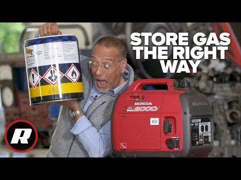How to store gas for your generator for years | Cooley