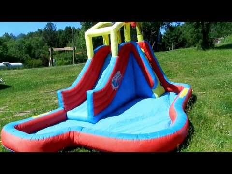 How to repair an inflatable slide