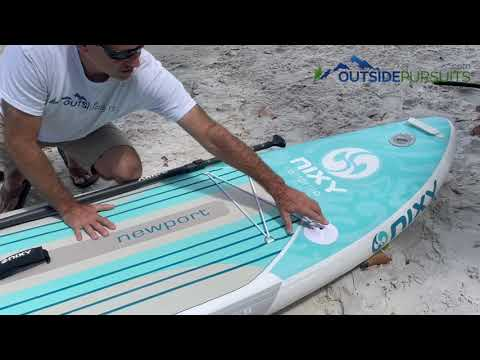 NIXY Newport G4 All Around Inflatable Paddle Board
