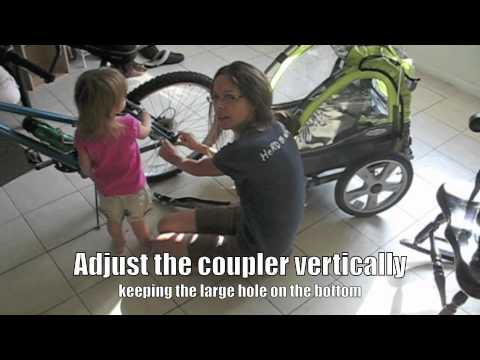 How to Attach an InStep Bicycle Trailer