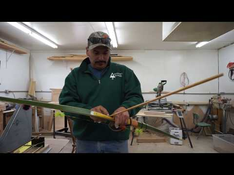 How to measure draw length on a recurve or longbow even when by yourself