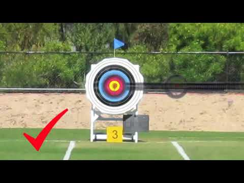 Aiming a Recurve Bow