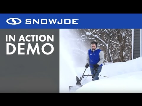 SJ625E - Snow Joe Ultra 21-Inch 15-Amp Electric Snow Thrower - Live Demo