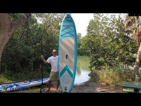 iRocker Nautical Inflatable Stand Up Paddle Board
