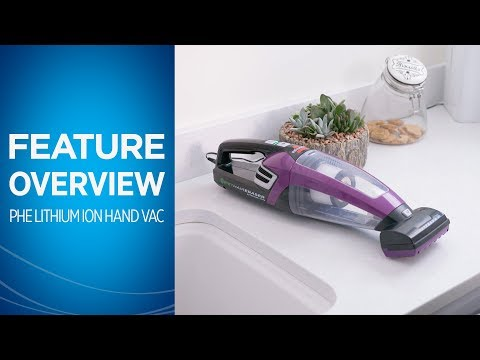 How to Use the Pet Hair Eraser® Lithium Ion Cordless Pet Hand Vacuum