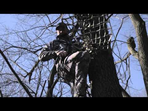How to Hang a Lone Wolf Hang-On & Climbing Sticks in 1 Trip