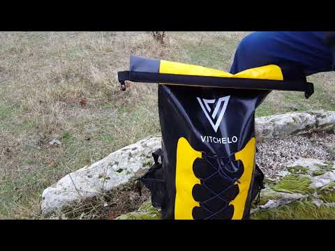 Waterproof Dry Bag Rucksack Backpack 30L Amazon Video Review 2018