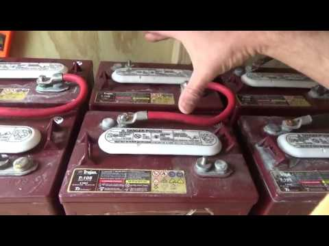 How To Wire Solar Battery Bank ~ Setting Up Off Grid Solar