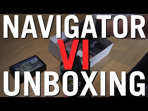 BMW Navigator 6 (VI) in 60 seconds * Unboxing & Overview - BMW Motorcycle Reviews