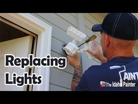 How To Install An LED Security Light Fast & Easy