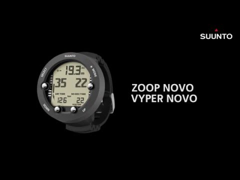 Suunto Zoop Novo & Vyper Novo - How to change dive mode