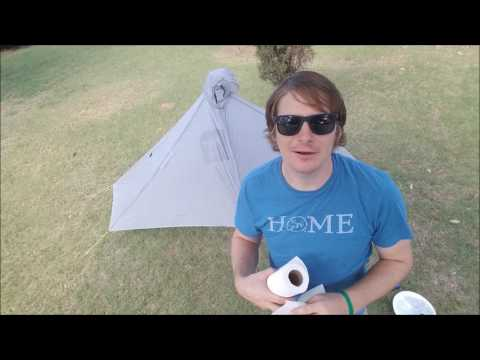 How to Seam Seal Your Tent - Tarptent Method