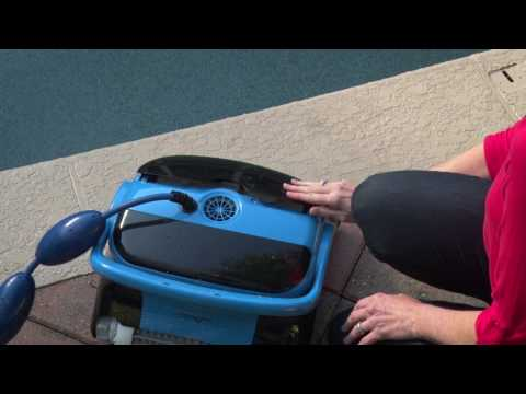 Dolphin Nautilus CC Plus Robotic Pool Cleaner by Maytronics