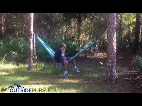 Tips on setting up a camping hammock