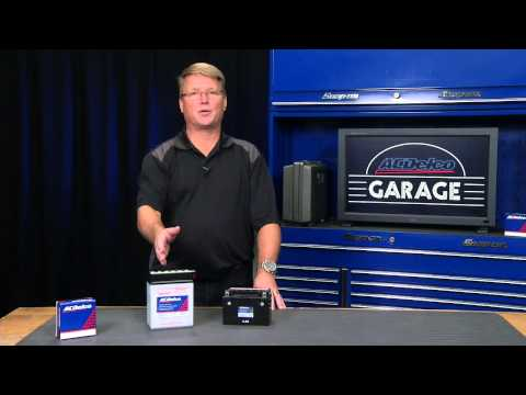 ATV, Powersports & Motorcycle Battery Overview | ACDelco