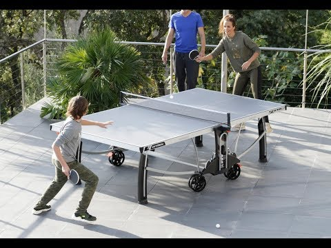 OUTDOOR TABLE TENNIS TABLE CORNILLEAU 500M CROSSOVER ENG