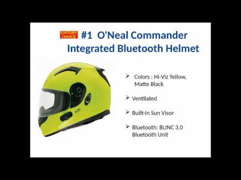 Best Bluetooth Motorcycle Helmet [2019]