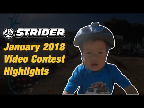 Strider Video Contest Highlights - January 2018