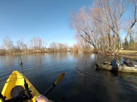 Getting In A Sit On Top Kayak From The Shore Or Bank .... How to Launch A Kayak