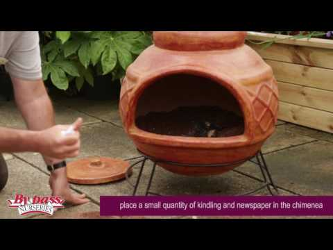 How to 'cure' a clay chimenea before use to prevent cracking