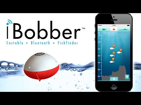 iBobber Castable Fish Finder - Sync with your smart phone or tablet
