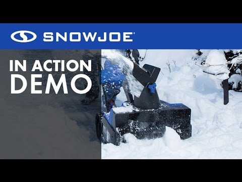 "iON18SB - Snow Joe 40-Volt Cordless, Battery-Powered Snow Blower - Live Demo ""Cut the Cord"""