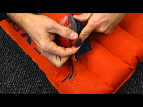 Exped mats with integrated pumps: how to adjust mat firmness