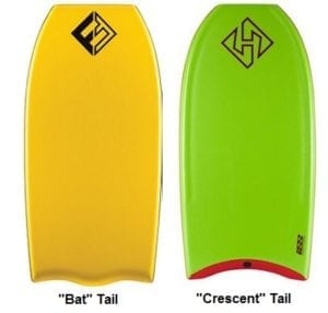 Boogie Board Tail Shape