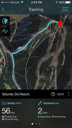 The Best Ski Apps Reviewed For Outside Pursuits - Trail map apps