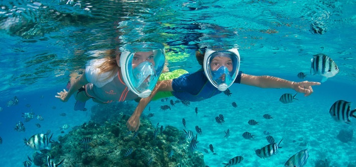 c7c38cd8b The 5 Best Full Face Snorkel Masks Reviewed For 2019