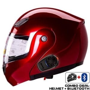 IV2 936 Modular Motorcycle Helmet + SENA SMH5 Bluetooth Unit