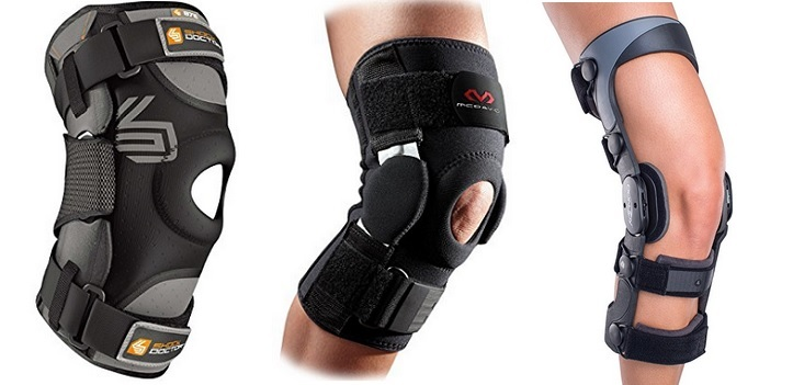 knee support for skiing
