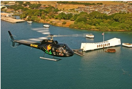 Oahu Sky and Sea Combo - Helicopter Tour with Sunset Dinner Cruise or Atlantis Submarine Excursion