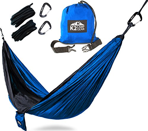 6 k2 double size camping hammock the 7 best camping hammocks reviewed for  2018    outside pursuits  rh   outsidepursuits