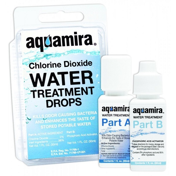 Aquamira - Chlorine Dioxide Water Treatment