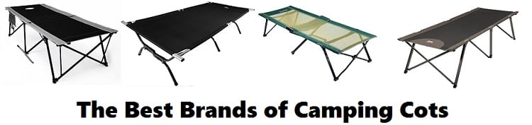 Best camping cot brands