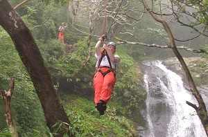 Zipline Tour from San Jose 25 Cables Over 11 Waterfalls