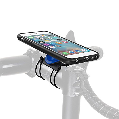Durable Non-slip Silicone Premium Bike Phone Mount Mobile Cellphone Holder Universal Cradle For Most Smartphones Automobiles & Motorcycles