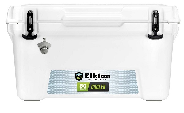 Elkton Outdoors 50 Quart Cooler Ice Chest