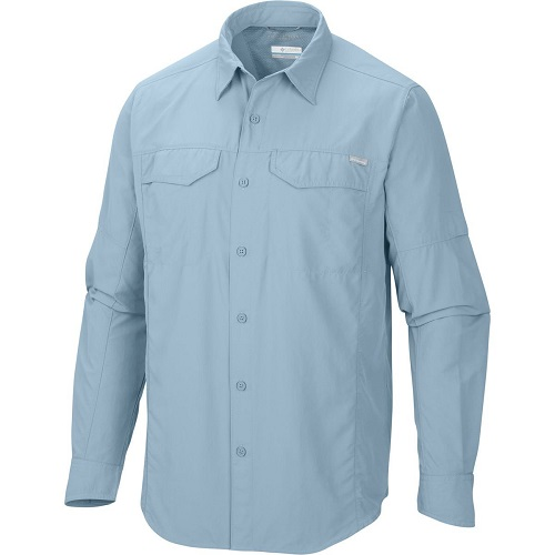 Columbia Mens Silver Ridge Long-Sleeve Shirt