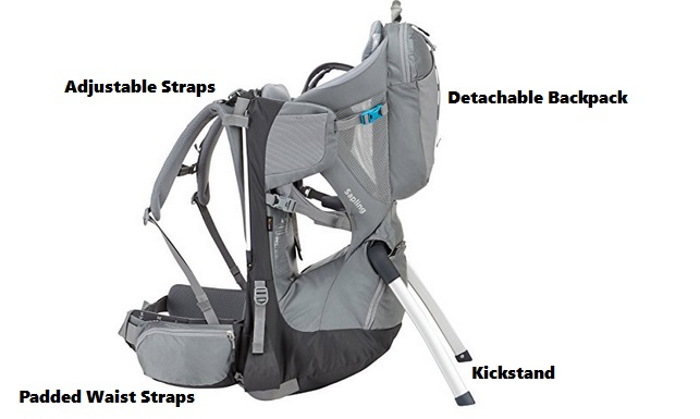 features of baby hiking backpacks
