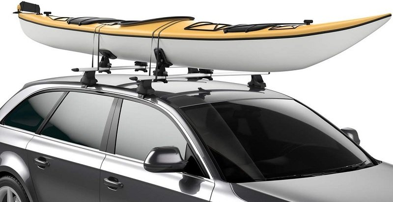 Kayak Roof Rack For Cars Without Rails >> The 10 Best Kayak Roof Racks - [2020 Reviews & Guide] | Outside Pursuits