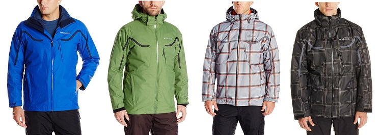 Columbia Sportswear Men's Whirlibird Interchange Jacket with Detachable Storm Hood