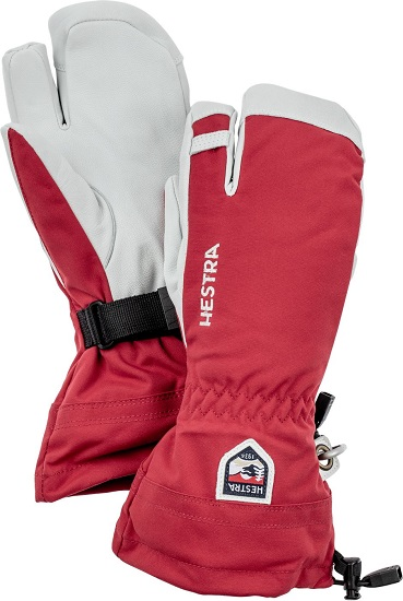 Hestra Army Leather Heli 3 Finger Ski Glove